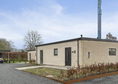 Etplanshuse på 105 m²